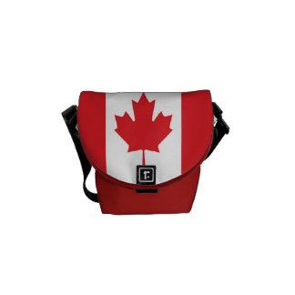 Flagge von Kanada Kurier Taschen