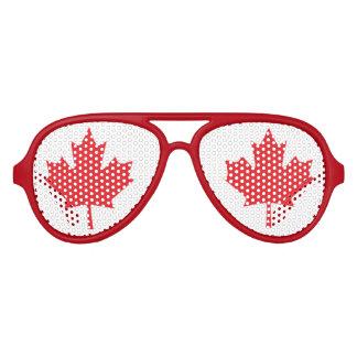 Flagge von Kanada Sonnenbrille