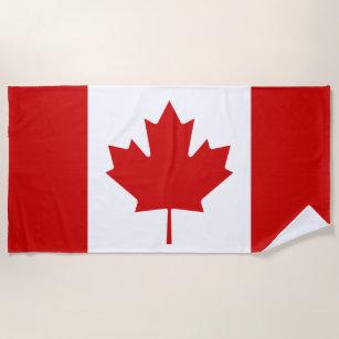 Flagge von Kanada Strandtuch