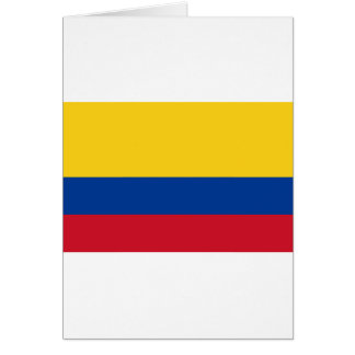Flagge von Kolumbien- - Banderade Kolumbien Karte