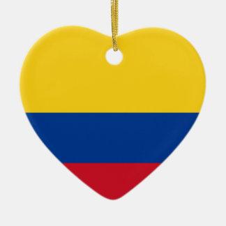 Flagge von Kolumbien, Republik von Kolumbien Keramik Ornament