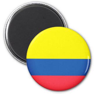 Flagge von Kolumbien Runder Magnet 5,7 Cm