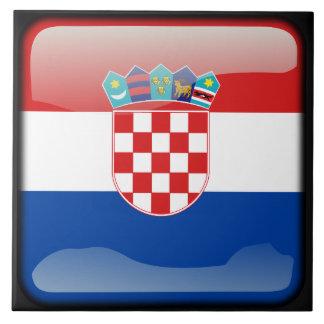 Flagge von Kroatien Keramikfliese