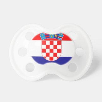 Flagge von Kroatien Schnuller