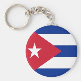 Flagge von Kuba Schlüsselanhänger