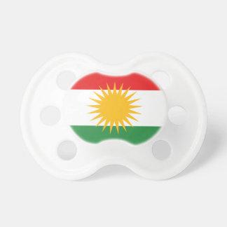 Flagge von Kurdistan (Alay Kurdistan oder Alaya Baby Schnuller