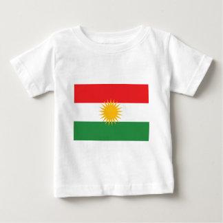 Flagge von Kurdistan; Kurde; Kurdisch Baby T-shirt
