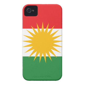 Flagge von Kurdistan; Kurde; Kurdisch Case-Mate iPhone 4 Hülle