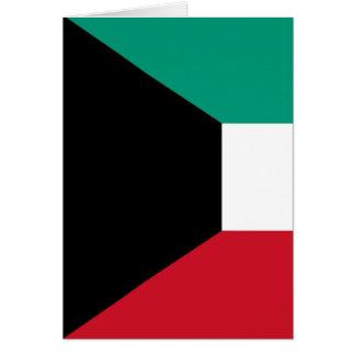 Flagge von Kuwait Karte