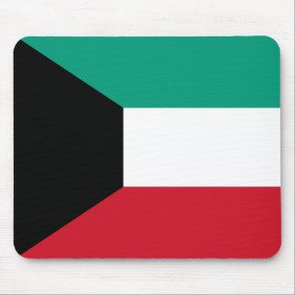 Flagge von Kuwait Mousepad