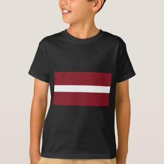 Flagge von Lettland T-Shirt