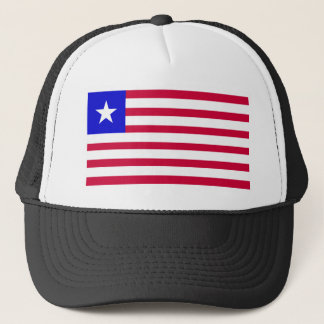 Flagge von Liberia Truckerkappe