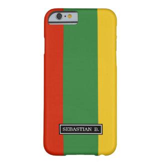 Flagge von Litauen Barely There iPhone 6 Hülle