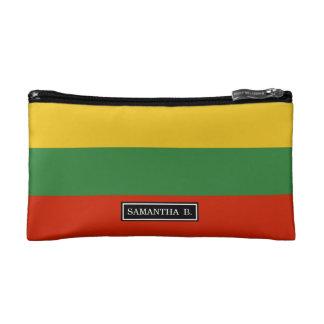 Flagge von Litauen Makeup-Tasche