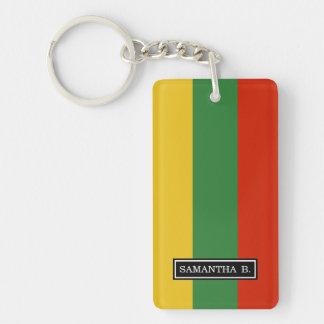 Flagge von Litauen Schlüsselanhänger