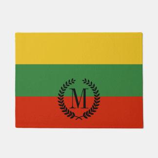 Flagge von Litauen Türmatte