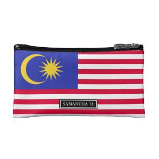 Flagge von Malaysia Makeup-Tasche