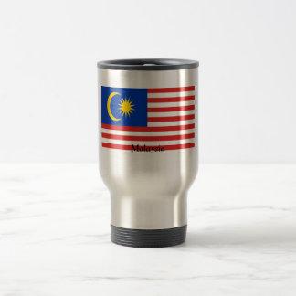 Flagge von Malaysia Reisebecher