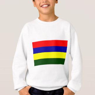Flagge von Mauritius Sweatshirt