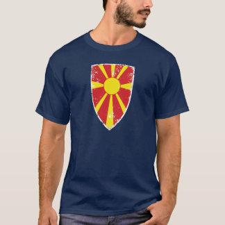 Flagge von Mazedonien T-Shirt