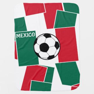 Flagge von Mexiko-Fußball Puckdecke