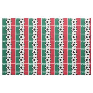 Flagge von Mexiko-Fußball Stoff