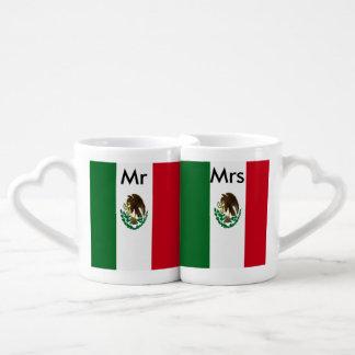 Flagge von Mexiko Liebestassen