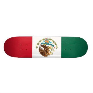 Flagge von Mexiko-Skateboard Personalisiertes Deck