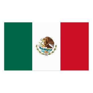 Flagge von Mexiko-Visitenkarten Visitenkarten