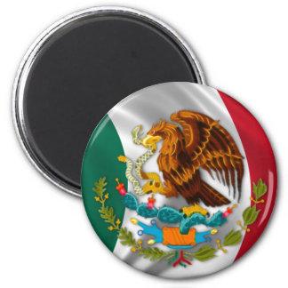 Flagge von Mexiko Wappen Kühlschrankmagnete