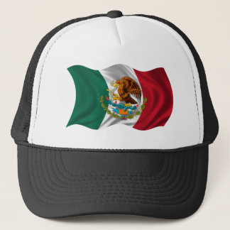 Flagge von Mexiko, Wappen Truckerkappe