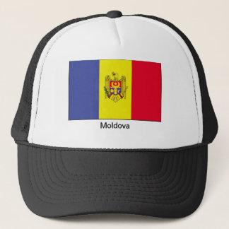 Flagge von Moldau Truckerkappe