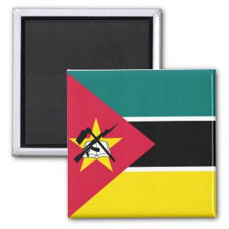 Flagge von Mosambik Kühlschrankmagnet