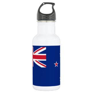 Flagge von Neuseeland Edelstahlflasche