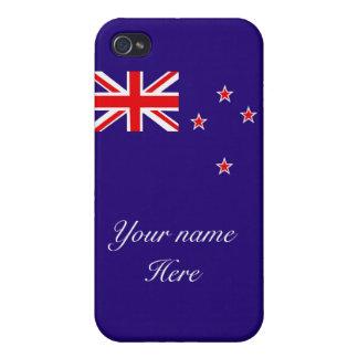 Flagge von Neuseeland iPhone 4/4S Hüllen