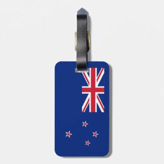 Flagge von Neuseeland Kofferanhänger