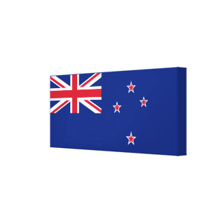 Flagge von Neuseeland Leinwanddruck