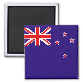 Flagge von Neuseeland Quadratischer Magnet