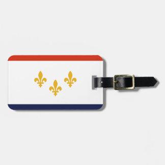 Flagge von New Orleans, Louisiana Kofferanhänger