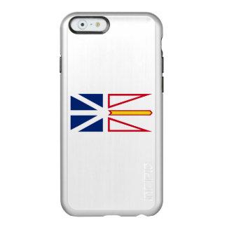 Flagge von Nfld. und Labrador silberner iPhone Incipio Feather® Shine iPhone 6 Hülle