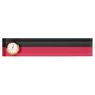 Flagge von Nijmegen Schreibtischplakette