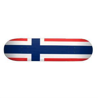 Flagge von Norwegen Personalisiertes Skatedeck