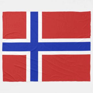 Flagge von Norwegen-Skandinavier Fleecedecke