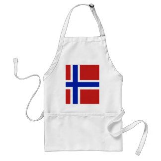 Flagge von Norwegen-Skandinavier Schürze