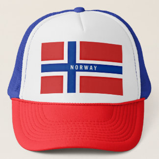 Flagge von Norwegen Truckerkappe