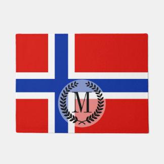 Flagge von Norwegen Türmatte
