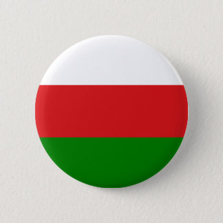 Flagge von Oman (علمعُمان) - Flagge von Oman Runder Button 5,1 Cm