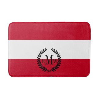 Flagge von Österreich Badematte