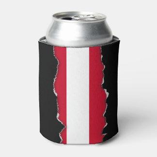 Flagge von Österreich Dosenkühler