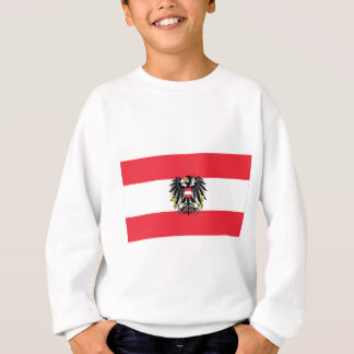 Flagge von Österreich - Flagge Österreichs Sweatshirt
